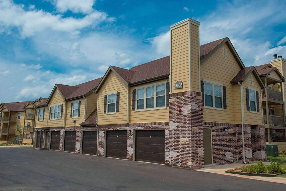 Our Oklahoma City apartments feature garages