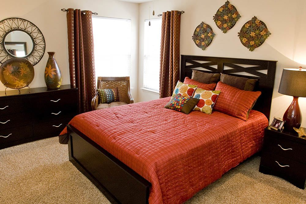 Our Yukon apartments feature spacious bedrooms