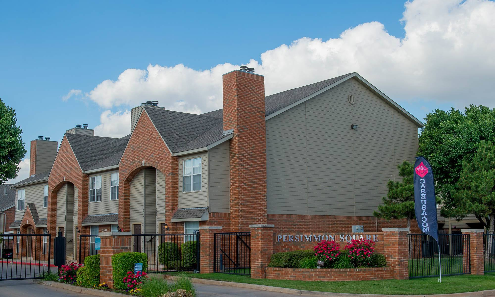 View of apartments in Oklahoma City, OK