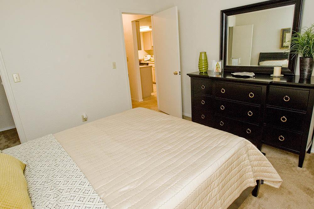 Bedroom at Summerfield Place Apartments in Oklahoma City