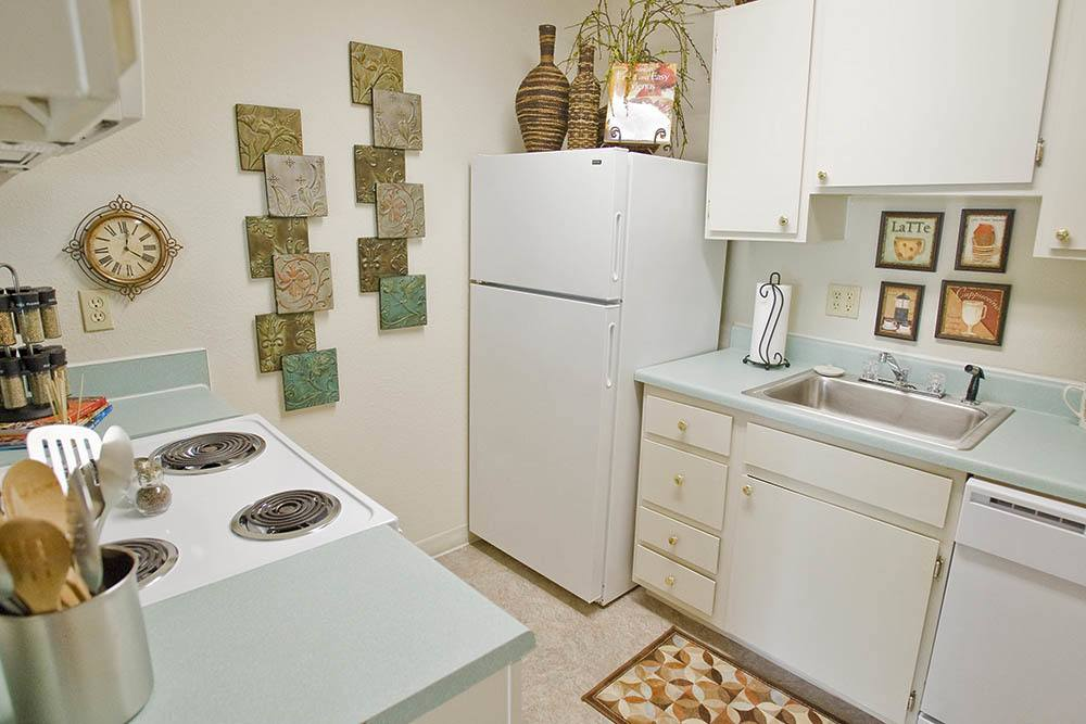 Kitchen at Summerfield Place Apartments