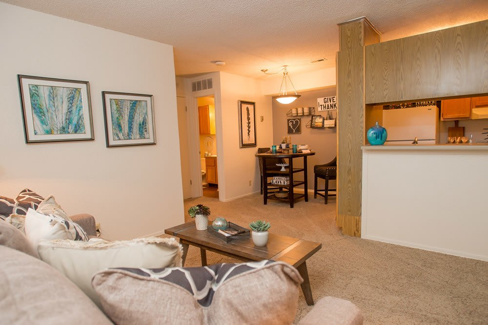Living Area at Tammaron Village Apartments