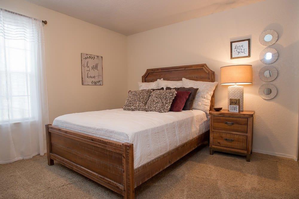 Bedroom at Tammaron Village Apartments