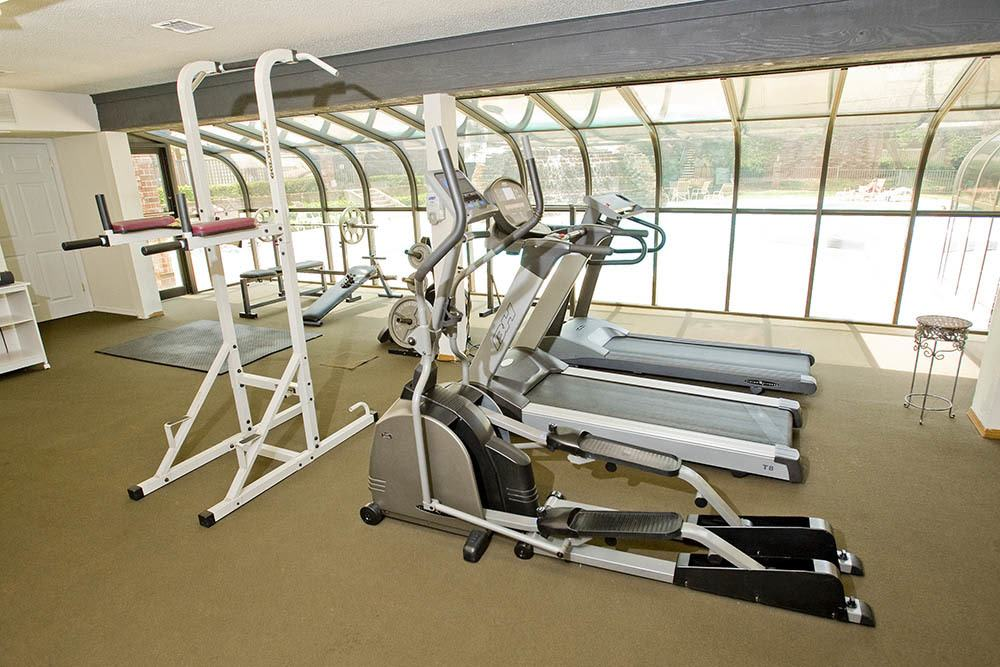 Keep fit with our cardio equipment at Warrington Apartments