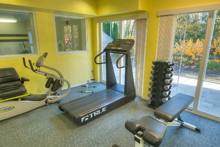 Fitness area at Lynnwood senior living