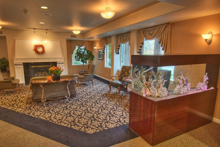 Common room at Renton senior living