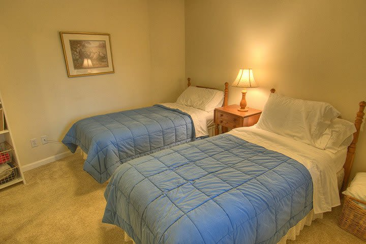 Inside a bedroom at Renton senior living