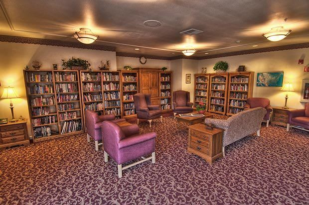 Library at Chateau Bothell
