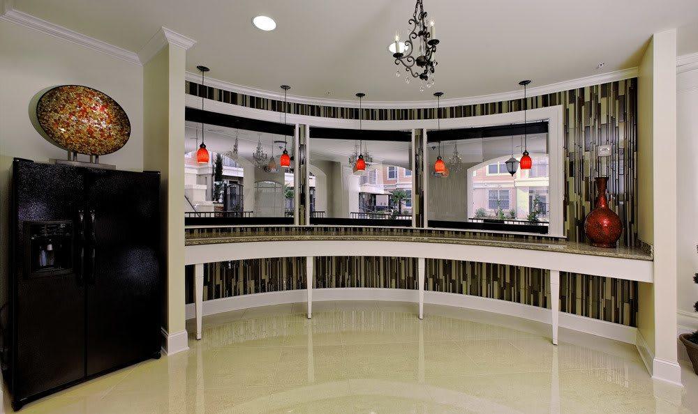Beautiful interior at The Villagio