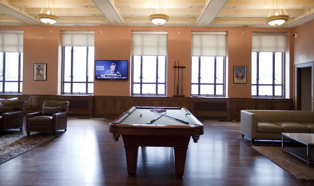 Billiards at 400 North Ervay Apartment Homes