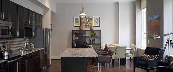 apartment features at 400 North Ervay