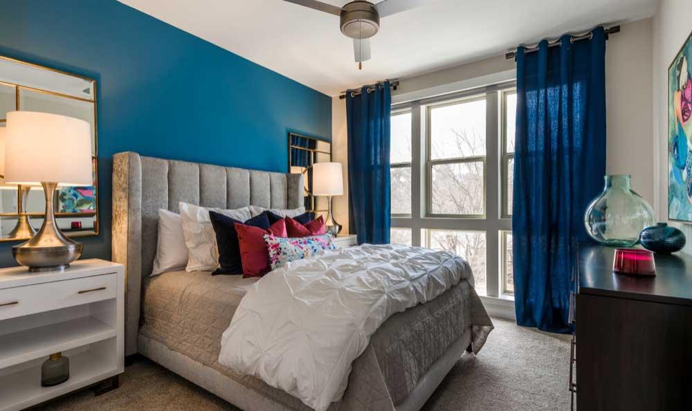 Berkshire Chapel Hill model bedroom