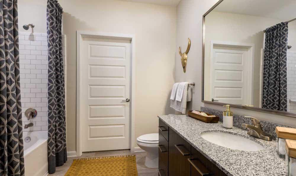 Model bathroom Berkshire Chapel Hill
