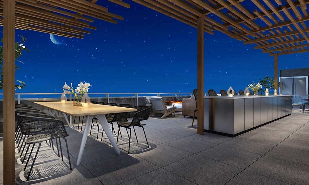 Rooftop bar at Vela on the Park