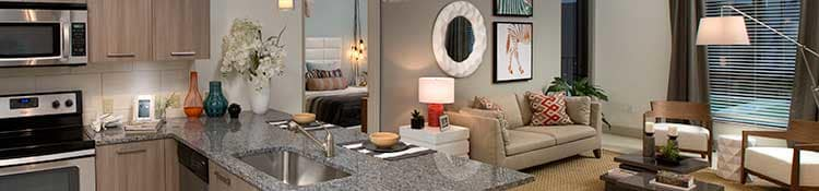 enjoy the many apartment amenities at our luxury apartments in Miami