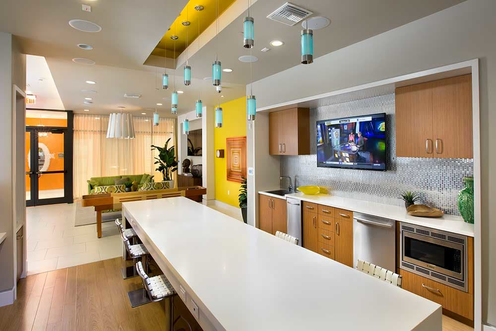 Nice clean kitchen in our Miami, FL apartments