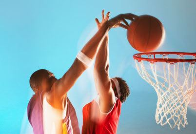 Our luxury apartments feature a basketball court