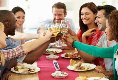 Celebrate the good life with friends at our apartment community