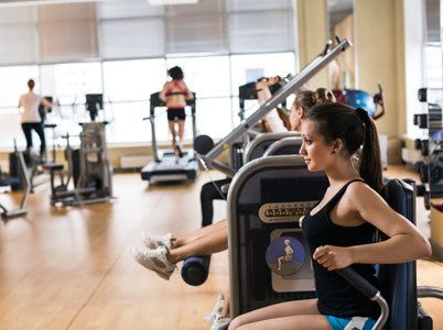 Enjoy access to our community's state of the art fitness center