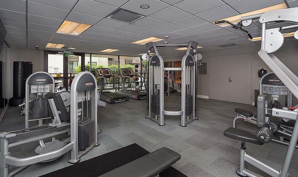 Enjoy a workout in our gym.