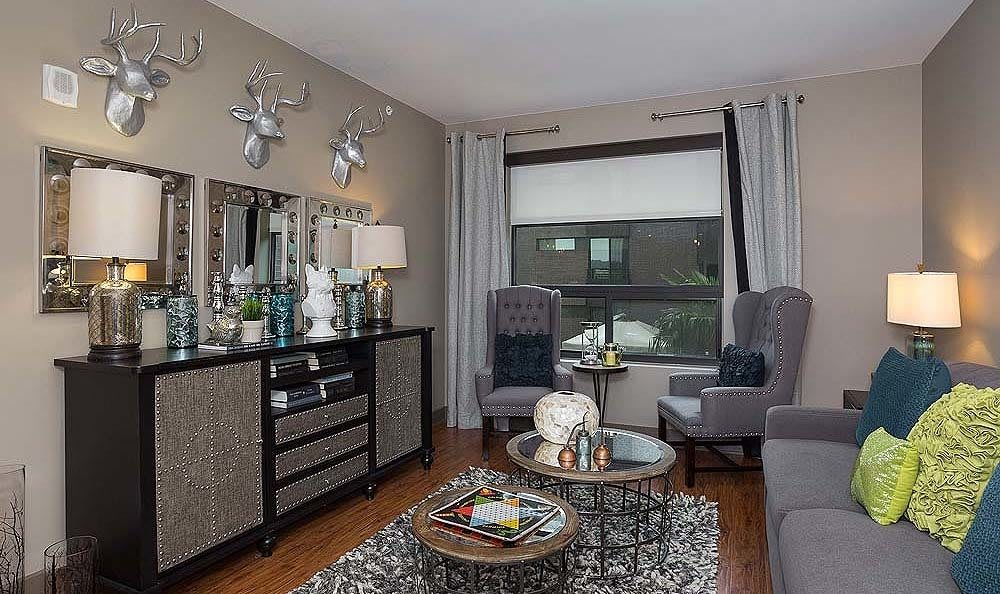 Enjoy an upscale urban lifestyle at our apartment community