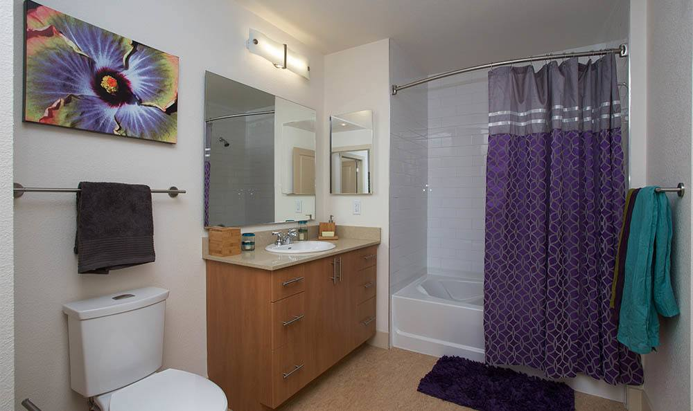 Gorgeous Bathrooms in Apartments at 2020 Lawrence
