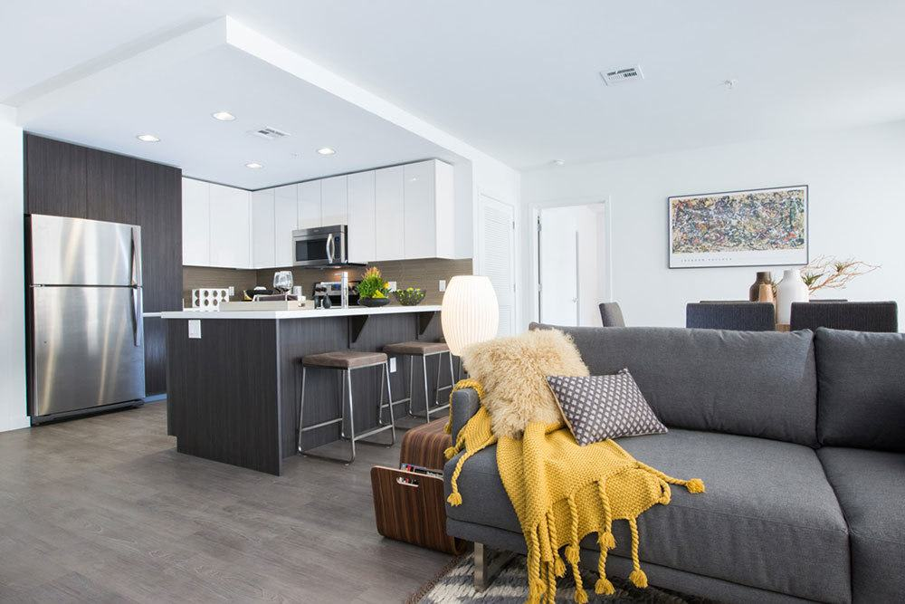 Beautifully designed living spaces at Aire