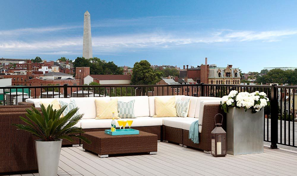 Charlestown apartments offering a rooftop lounge