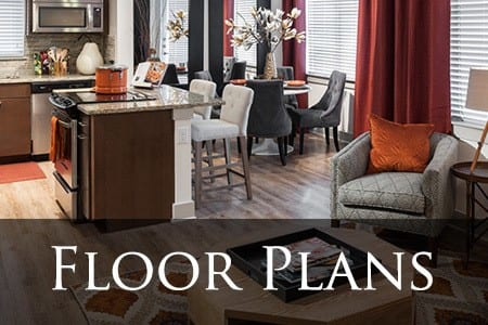 Dallas apartments offering a variety of floor plans