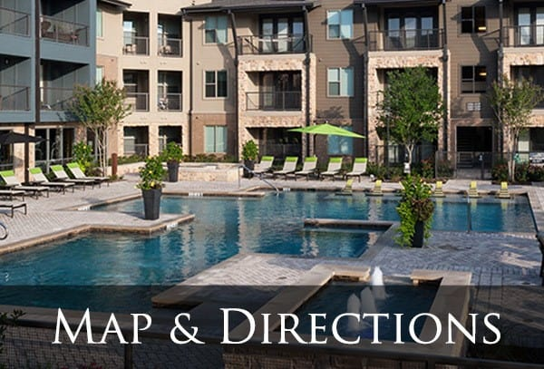 Map and directions to our apartments in Dallas