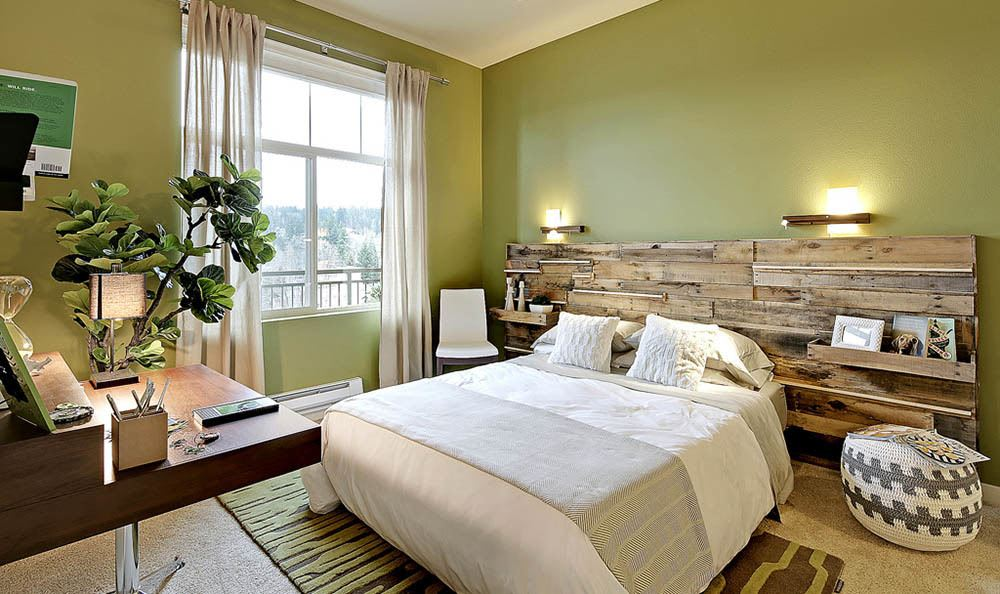 Bedroom at apartments in WA