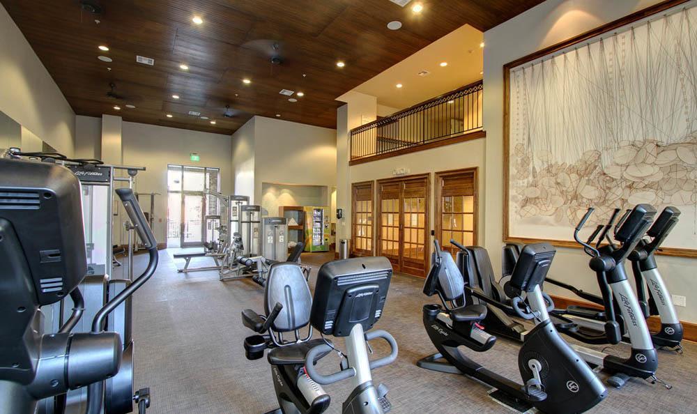 Enjoy the luxury fitness center