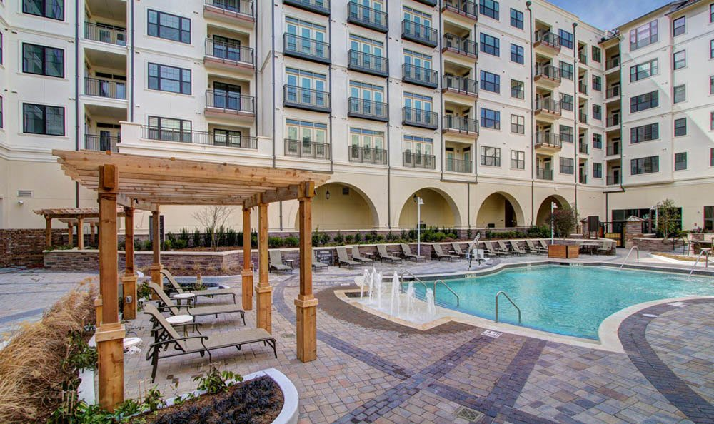 Soak up the sun at our luxury saltwater pool