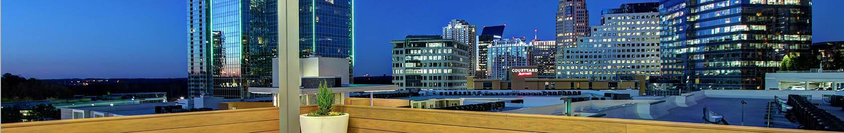 Terminus apartments is located in the heart of the Buckhead District