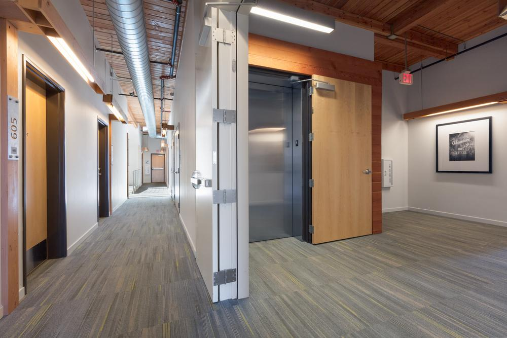 Our apartment community features a spacious  and elevator access