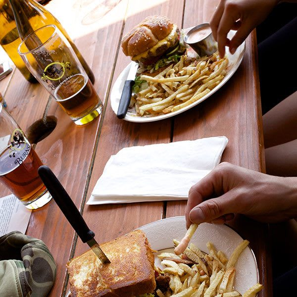 Shopping and dining attractions near Lower Burnside