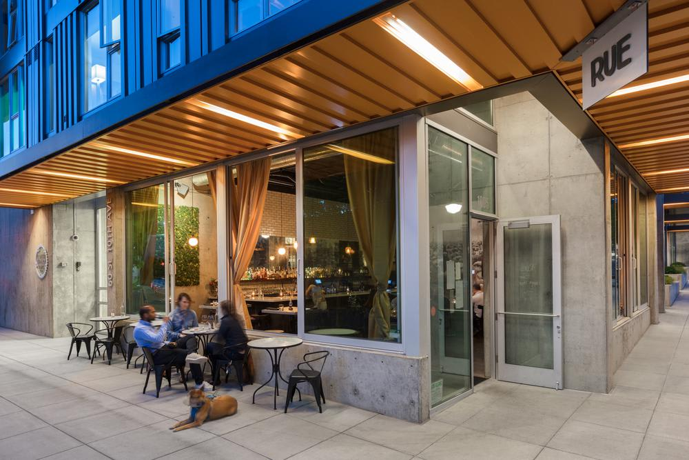 Restaurante Entry Side at Lower Burnside in Portland