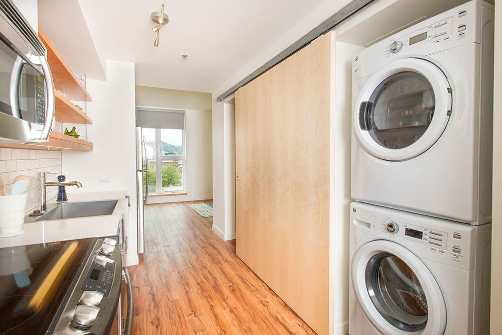 Our apartments are outfitted with energy efficient appliances