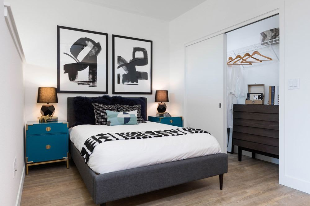 Spacious Bedroom at Cook Street Apartments