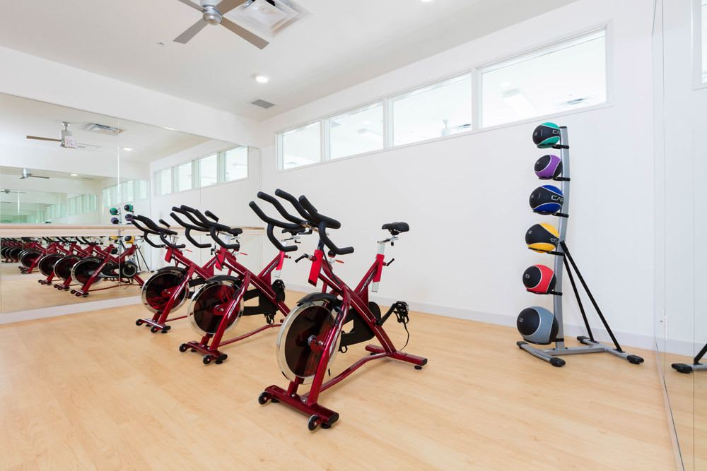 Fitness Center at Cook Street Apartments