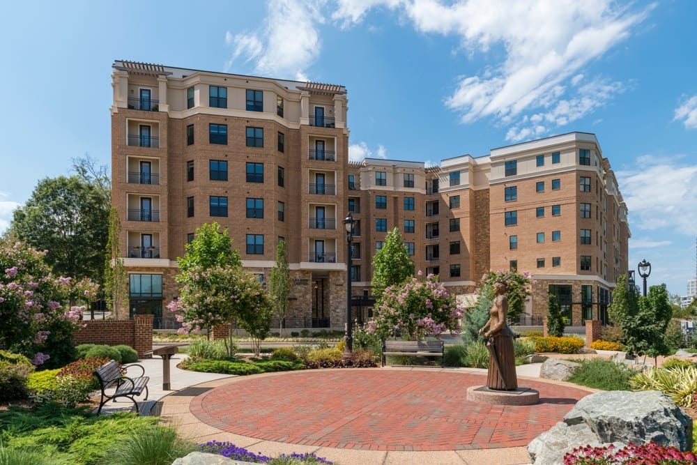Exterior view of Berkshire Dilworth in Charlotte NC