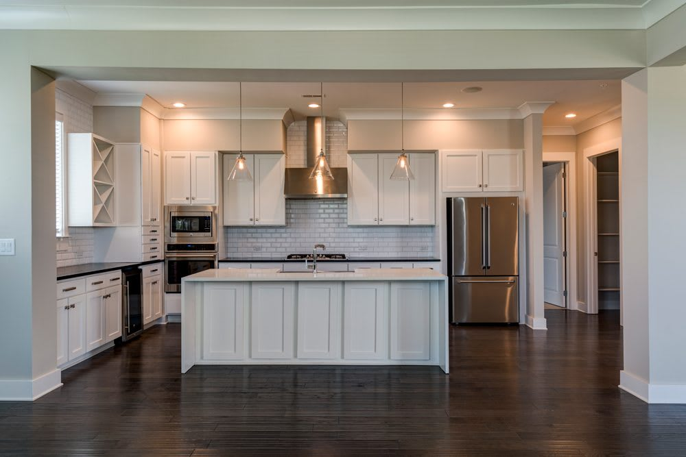 Wide view of Kitchen at  Charlotte NC