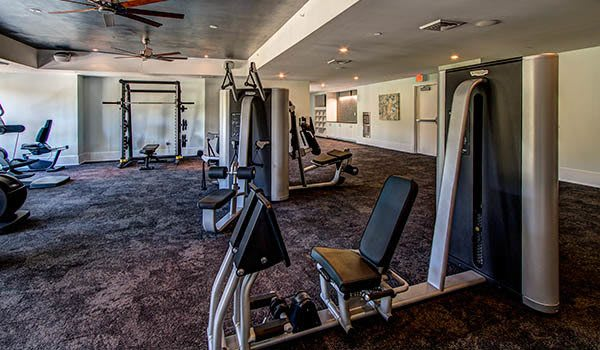 Stay fit with our community fitness center here at Berkshire Dilworth