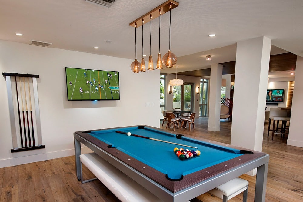 Challenge your friends and neighbors to a game of billiards in our clubhouse at Berkshire Lauderdale By The Sea