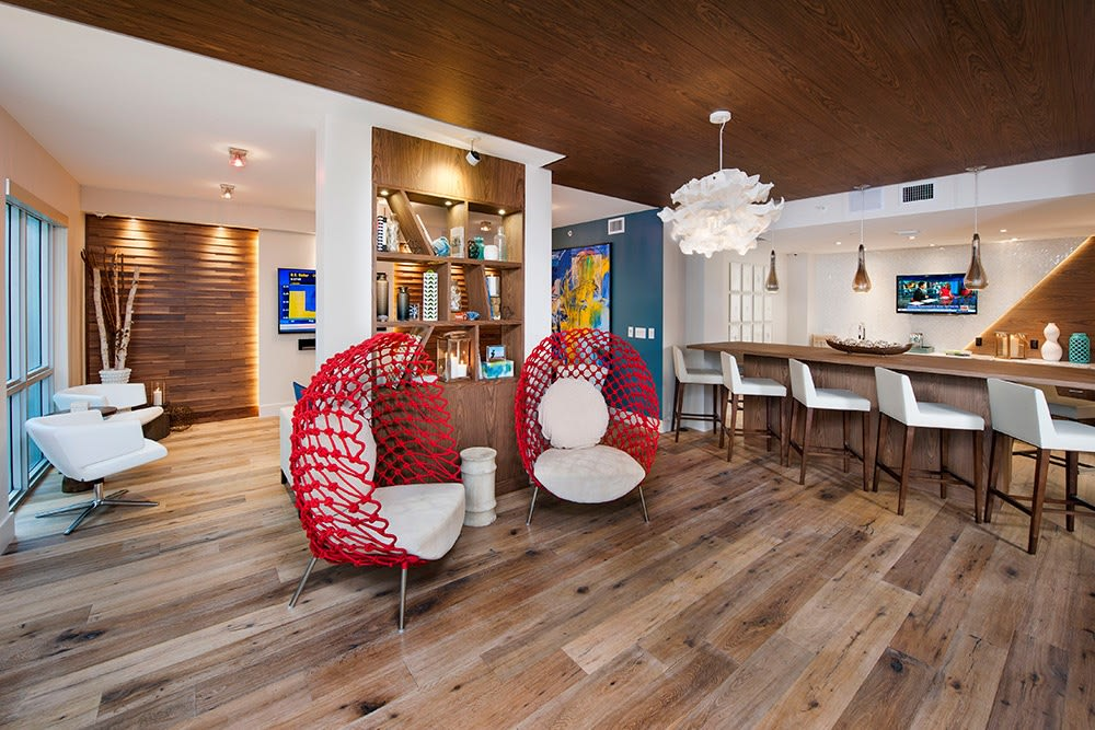 Your guests may never want to leave when they have the opportunity to tour our clubhouse here at Berkshire Lauderdale By The Sea