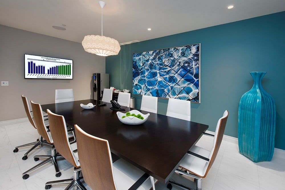 For those days where your home is your office, if you need more space our residents have access to spacious conference rooms here at Berkshire Lauderdale By The Sea