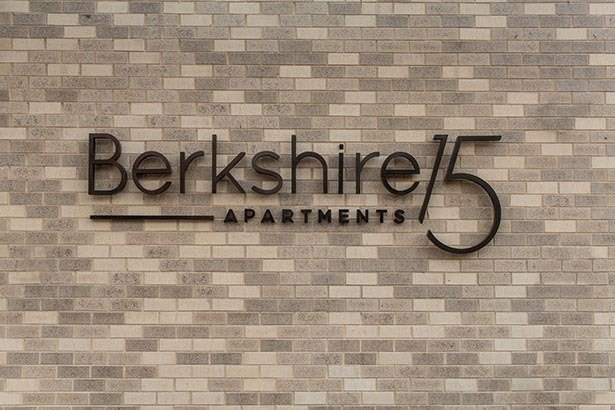 Signage at Berkshire 15 in Washington, DC