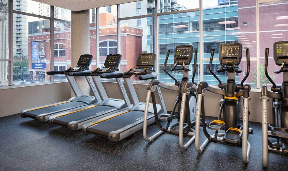 Fitness Center At Our Luxury Chicago Apartments