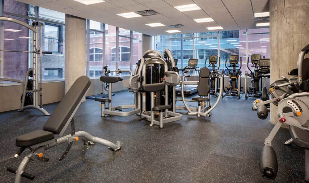 Fitness Equipment At Our Luxury Chicago Apartments