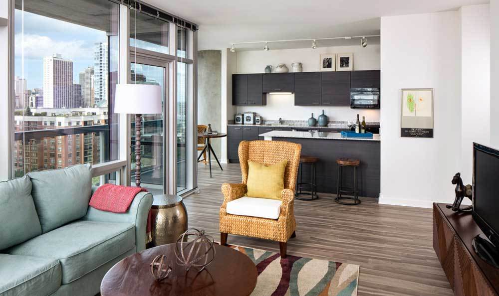 Open Floor Plans At Our Luxury Chicago Apartments
